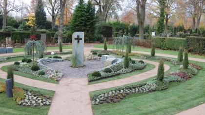 Memoriam Garten Friedhof Wiedenbrück
