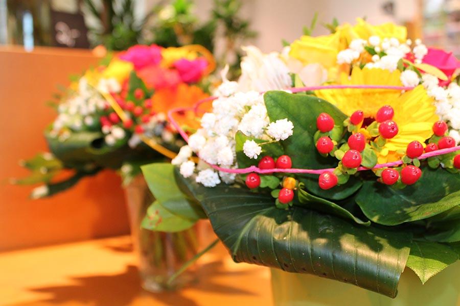 Blumenstrauß Blumenhaus Wagner