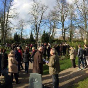 Einweihung Memoriam Garten