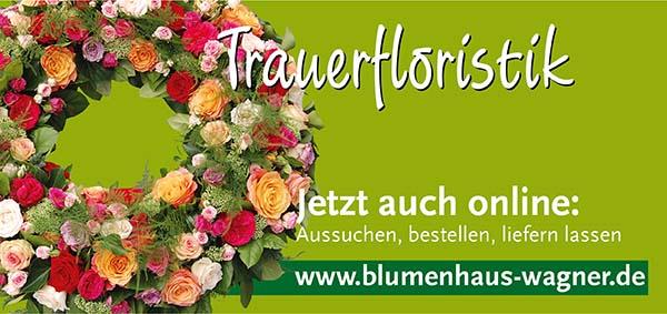 Wagner Online Shop Trauerfloristik